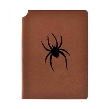 University of Richmond Velour Journal with Pen Holder|Carbon Etched|Officially Licensed Collegiate Journal|