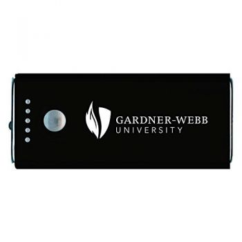 Gardner-Webb University-Portable Cell Phone 5200 mAh Power Bank Charger -Black