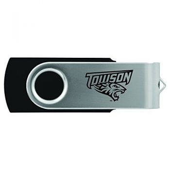 Towson University -8GB 2.0 USB Flash Drive-Black