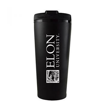 Elon University -16 oz. Travel Mug Tumbler-Black