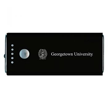 Georgetown University-Portable Cell Phone 5200 mAh Power Bank Charger -Black