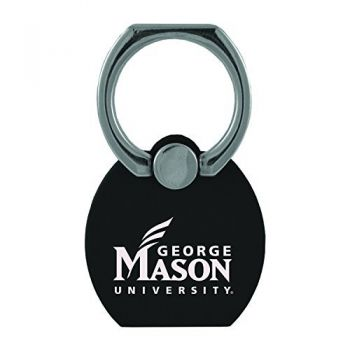 George Mason University |Multi-Functional Phone Stand Tech Ring|Black