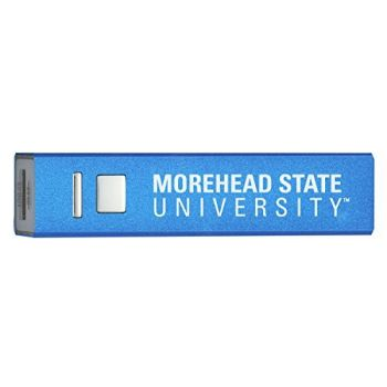 Morehead State University - Portable Cell Phone 2600 mAh Power Bank Charger - Blue