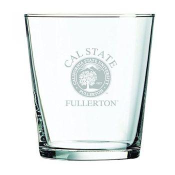 California State University Fullerton -13 oz. Rocks Glass