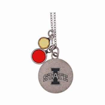 Iowa State University-Frankie Tyler by LXG Charmed Necklace