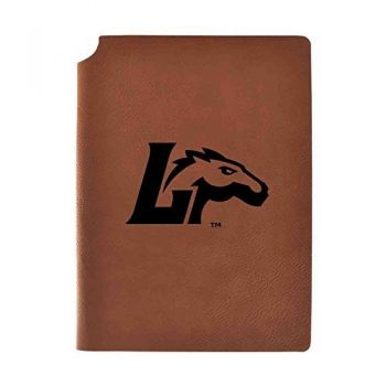 Longwood University Velour Journal with Pen Holder|Carbon Etched|Officially Licensed Collegiate Journal|