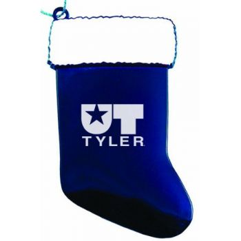 University of Texas at Tyler - Christmas Holiday Stocking Ornament - Blue