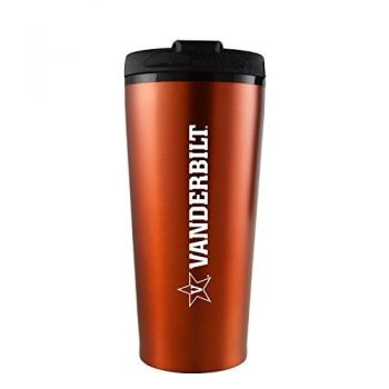 Vanderbilt University -16 oz. Travel Mug Tumbler-Orange