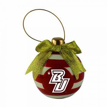 Binghamton University-Christmas Bulb Ornament