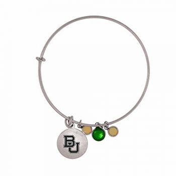 Baylor University-Frankie Tyler Charmed Bracelet