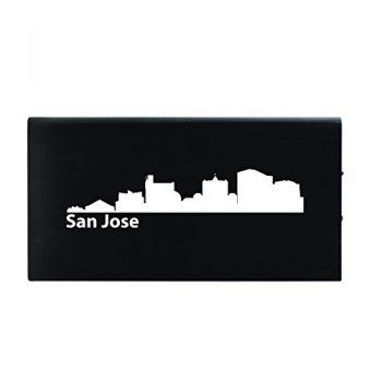 Quick Charge Portable Power Bank 8000 mAh - San Jose City Skyline