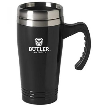 Butler University-16 oz. Stainless Steel Mug-Black