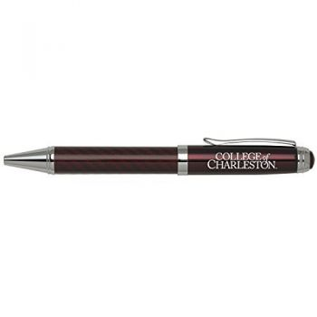 College of Charleston-Carbon Fiber Mechanical Pencil-Burgundy