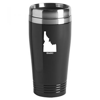 16 oz Stainless Steel Insulated Tumbler - Idaho State Outline - Idaho State Outline
