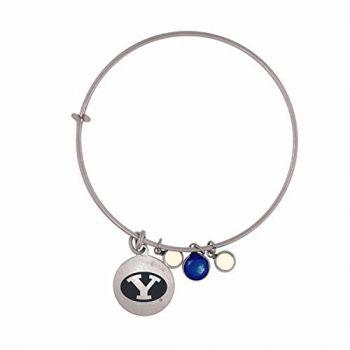Brigham Young University-Frankie Tyler Charmed Bracelet