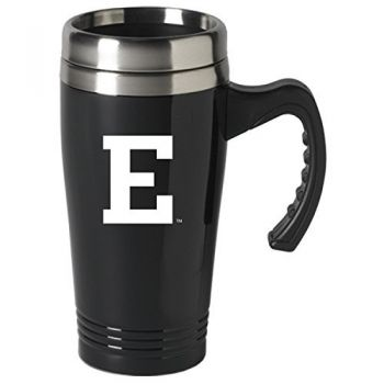 Eastern Michigan University-16 oz. Stainless Steel Mug-Black