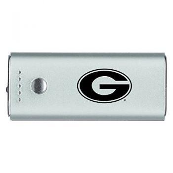 Grambling State University-Portable Cell Phone 5200 mAh Power Bank Charger -Silver
