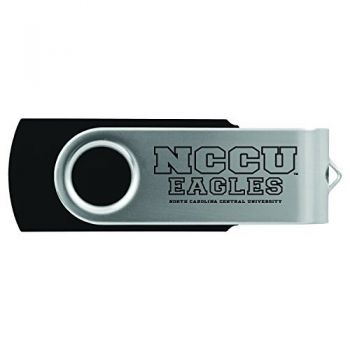 North Carolina Central University -8GB 2.0 USB Flash Drive-Black