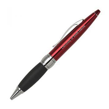University of South Dakota - Twist Action Ballpoint Pen - Red