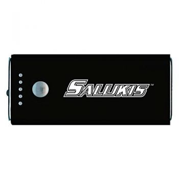 Southern Illinois University -Portable Cell Phone 5200 mAh Power Bank Charger -Black
