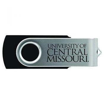 University of Central Missouri -8GB 2.0 USB Flash Drive-Black