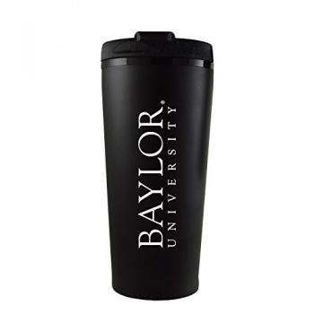 Baylor University -16 oz. Travel Mug Tumbler-Black