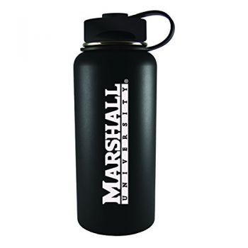 Marshall University -32 oz. Travel Tumbler-Black