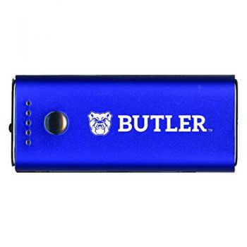 Butler University -Portable Cell Phone 5200 mAh Power Bank Charger -Blue