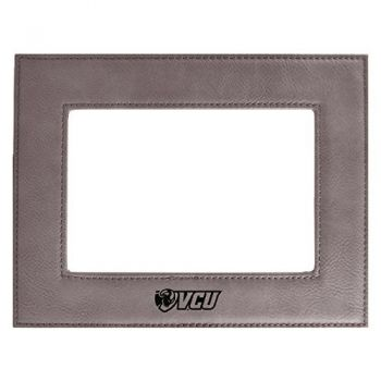 Virginia Commonwealth University-Velour Picture Frame 4x6-Grey