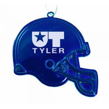 University of Texas at Tyler - Christmas Holiday Football Helmet Ornament - Blue