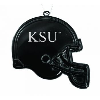 Kennesaw State University - Christmas Holiday Football Helmet Ornament - Black
