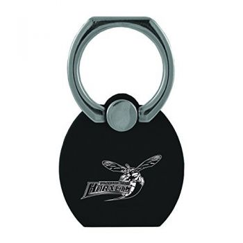 Delaware State University|Multi-Functional Phone Stand Tech Ring|Black