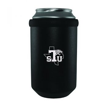 Texas Southern University -Ultimate Tailgate Can Cooler-Black