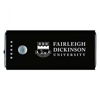 Fairleigh Dickinson University -Portable Cell Phone 5200 mAh Power Bank Charger -Black