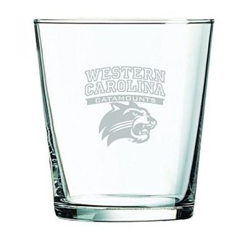 Western Carolina University -13 oz. Rocks Glass