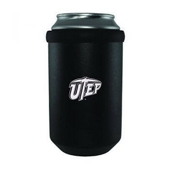 The University of Texas at El Paso -Ultimate Tailgate Can Cooler-Black