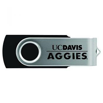University of California, Davis -8GB 2.0 USB Flash Drive-Black