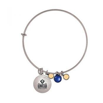 University of North Carolina Wilmington-Frankie Tyler Charmed Bracelet