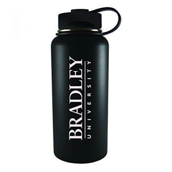 Bradley University -32 oz. Travel Tumbler-Black