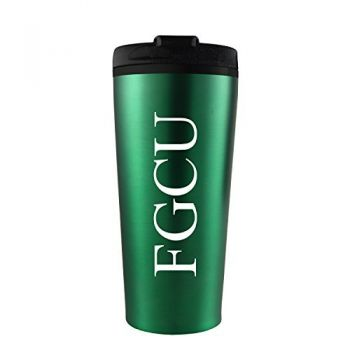 Florida Gulf Coast University -16 oz. Travel Mug Tumbler-Green