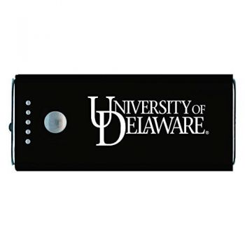 University of Delaware -Portable Cell Phone 5200 mAh Power Bank Charger -Black