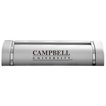 Campbell University-Desk Business Card Holder -Silver