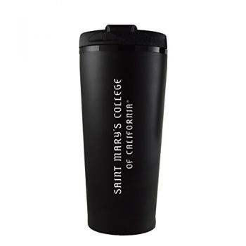 Saint Mary's College of California -16 oz. Travel Mug Tumbler-Black
