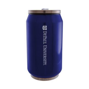 DePaul University - Stainless Steel Tailgate Can - Blue