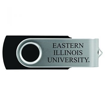 Eastern Illinois University -8GB 2.0 USB Flash Drive-Black