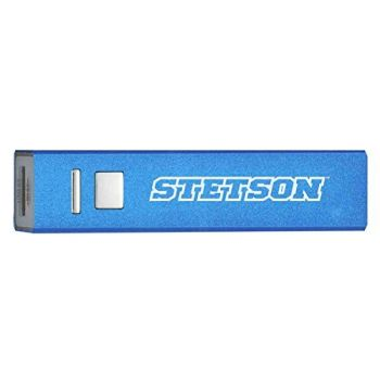 Stetson University - Portable Cell Phone 2600 mAh Power Bank Charger - Blue