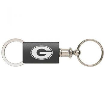 Grambling State University - Anodized Aluminum Valet Key Tag - Black