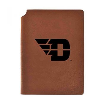 University of Dayton Velour Journal with Pen Holder|Carbon Etched|Officially Licensed Collegiate Journal|