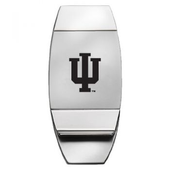 Indiana University - Two-Toned Money Clip