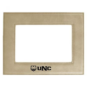 University of Northern Colorado-Velour Picture Frame 4x6-Tan